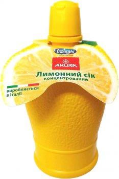 Сок лимона Akura концентрированный 200 мл (8031301886224)