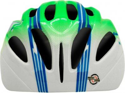 Велосипедний шолом Cairn Earthy Jr S (52/56 см) Green-Blue (0300139-92-52)