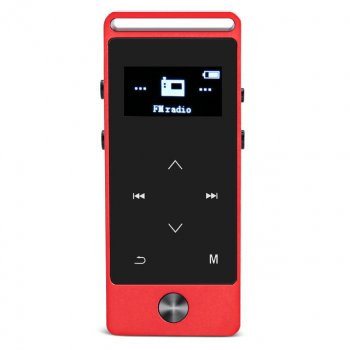 MP3 плеєр Benjie S5 8 Gb Red