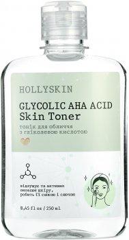 Тоник для лица Hollyskin Glycolic AHA Acid Skin Toner 250 мл (4823109700154)