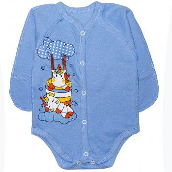 Боди Малыш Style Единорог БД-01 Голубой