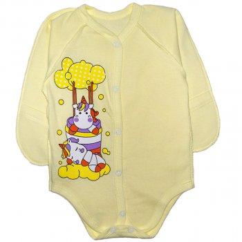 Боди Малыш Style Единорог БД-01 Желтый