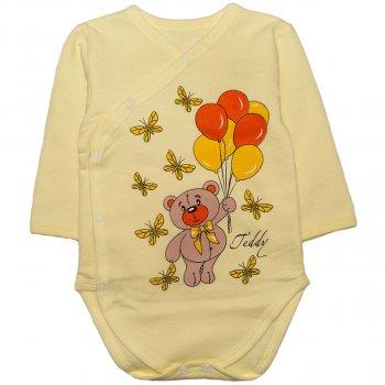 Боди Малыш Style Мишка БД-16 Желтое