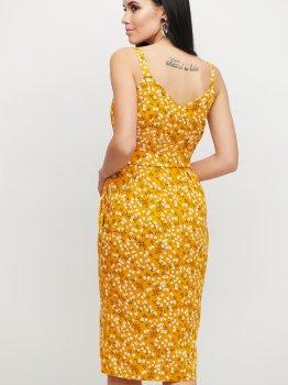 Плаття Karree Моана P1828M5795 Гірчичне