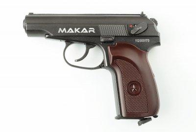 Пневматичний пістолет Makar ZBROIA Blowback