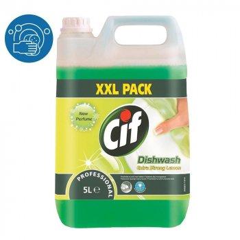 Средство для замачивания и ручного мытья посуды Cif Dishwash Extra Strong концентрат 5л