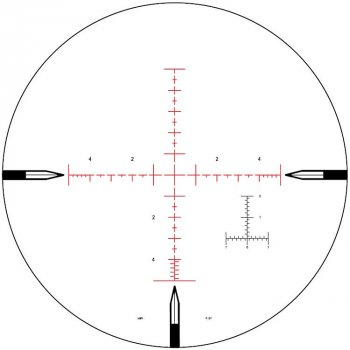 Приціл Nightforce ATACR 5-25x56 F2 ZeroS 0.1 сітка Mil Mil-R з підсвітленням (2375.00.72)