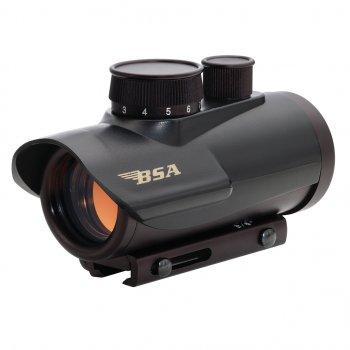 Приціл коліматорний BSA-Optics Red Dot RD30. Weaver/Picatinny (2192.02.07)