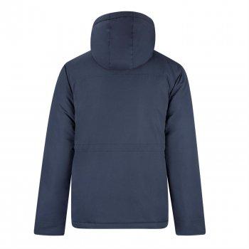 Куртка Lee Cooper Sherpa Hooded Parka Mens Темно-синій