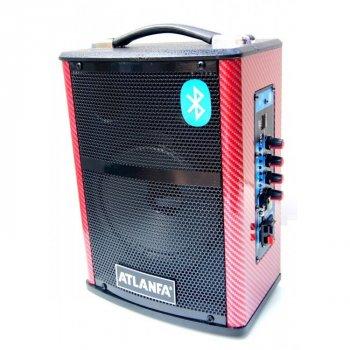 Акустичні системи автономні Atlanfa Q1 з підсилювачем і акумулятором art.565330