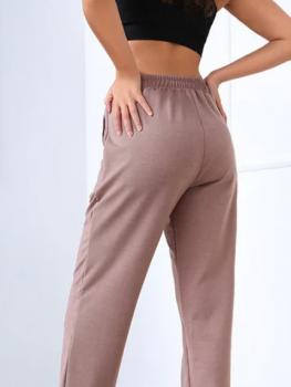 Жіночі спортивні штани Fashion Woman GF000104 капучино