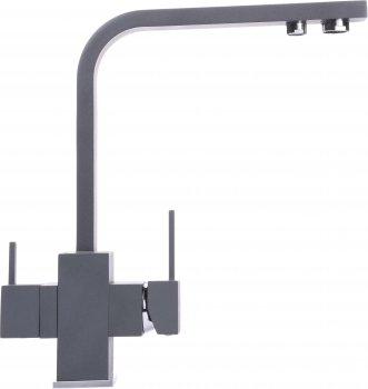 Кухонний змішувач з під'єднанням до фільтра GLOBUS LUX GLLR-0111-3-Titanium