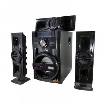 Акустическая система 3.1, музыкальные колонки ERЛ ЕЛR, 60ВТ, USB/SD/AUX/Bluetooth/FM-радио, 12/220V (503)