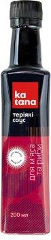 Соус соєвий Katana Теріякі 200 мл (4820179361612)