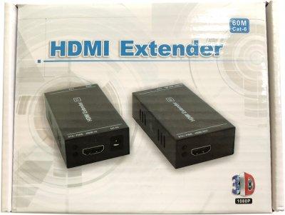 Подовжувач HDMI-сигналу Atcom HDMI extender через виту пару до 60 м (14371)