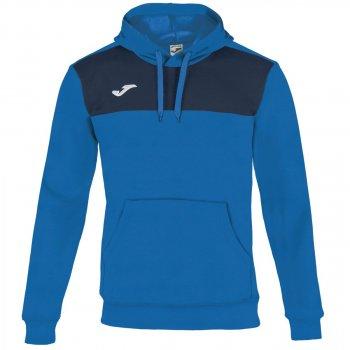 Толстовка Joma WINNER 101106.703 з капюшоном колір: синій/темно-синій
