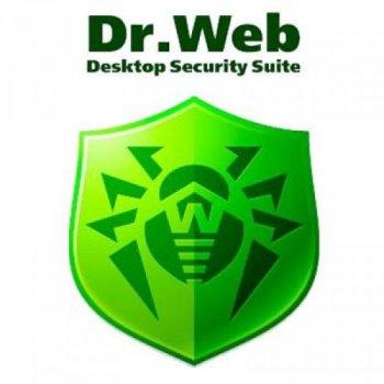 Антивірус Dr. Web Desktop Security Suite + Компл зах/ ЦУ 13 ПК 2 роки ел. осіб (LBW-BC-24M-13-A3)