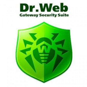 Антивірус Dr. Web Gateway Security Suite + ЦУ/ Антиспам 25 ПК 2 роки ел. ліц. (LBG-AC-24M-25-A3)
