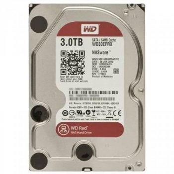 """Жорсткий диск 3.5"""" 3TB Western Digital (WD30EFRX)"""