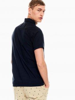 Рубашка Garcia Q01038-292 Темно-синяя