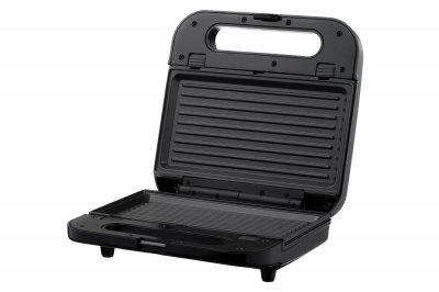 Мультимейкер Ardesto SM-H400S/ 4 змінних плити/ 700 Вт/чорний+метал