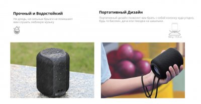 Портативна колонка Tronsmart Element T6 Mini Black (T6M)