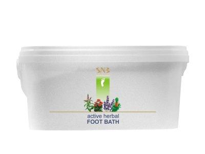 Активная травяная ванна для ног SNB Active Herbal Foot Bath 2200 г