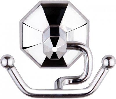 Крючок двойной TEKNO-TEL Petek MG236P хром