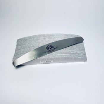 Металлическая пилка Global Fashion с сменными файлами-абразивами 80 грит (50шт)