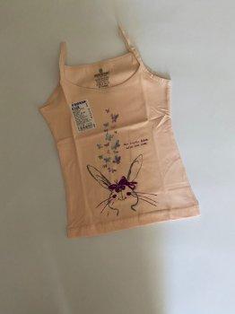 Майка для девочки Baykar 4168,персиковая