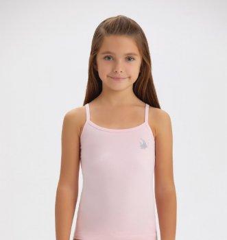 Майка для девочки Baykar 4108 розовая