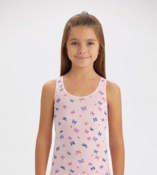 Майка для девочки Baykar 4498, розовая