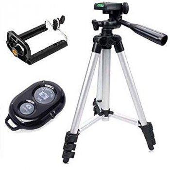 Штатив Weifeng DK-3888 Bluetooth для смартфона, фотокамеры, видеокамеры