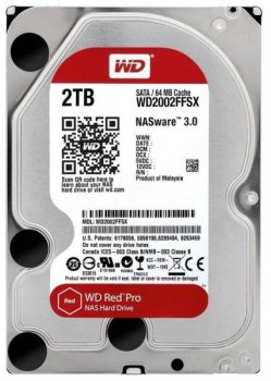 Жорсткий диск (HDD) Western Digital Red Pro NAS 7200rpm 64MB (WD2002FFSX) (WD2002FFSX)