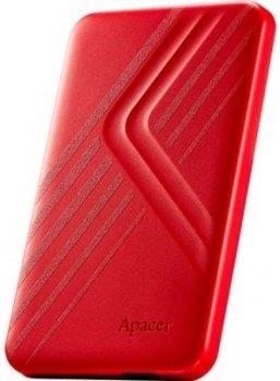 Жорсткий диск (HDD) Apacer AC236 2TB USB 3.1 Red (AP2TBAC236R-1)