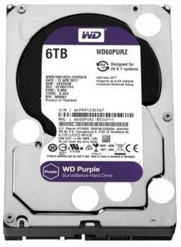 """Жорсткий диск (HDD) Western Digital 3.5"""" 6TB (WD60PURZ)"""