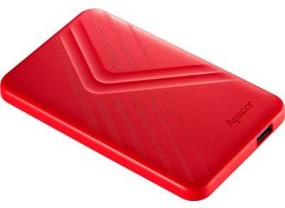 Жорсткий диск (HDD) Apacer AC236 1TB USB 3.1 Red (AP1TBAC236R-1)