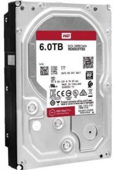 Жорсткий диск (HDD) Western Digital Red Pro NAS 7200rpm 256MB (WD6003FFBX) (WD6003FFBX)