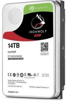 Жорсткий диск (HDD) Seagate IronWolf NAS 7200rpm 256MB (ST14000VN0008) (ST14000VN0008)