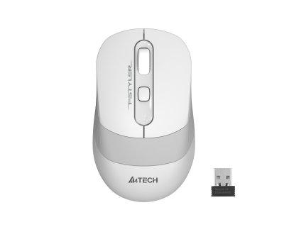 Миша A4 Tech FG10S (White) безпровідна Fstyler