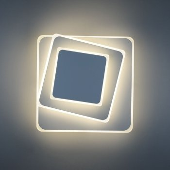 Бра 4light 8663/3F White LED 18W