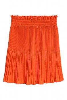 Юбка H&M Ж1039227 (05361626) цвет оранжевый