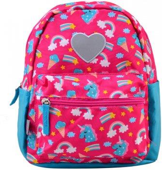 Рюкзак дитячий Yes K-19 Unicorn 24.5x20x11 для дівчинки (555309)
