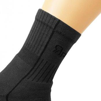 Шкарпетки трекінгові літні Ярунь середні сірі