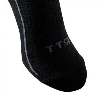 Шкарпетки трекінгові літні Ярунь ТТЯ низькі чорні