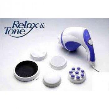 Антицелюлітний вібромасажер для тіла RELAX AND SPIN TONE, масажер для рук, спини, шиї