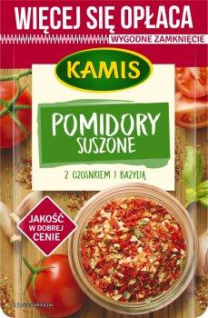 Упаковка приправы Kamis Сушеный томат с чесноком и базиликом 50 г х 2 шт (5900084267403)