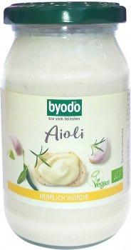 Майонез Byodo вегетарианский пикантный 40% 250 мл (4018462158456)