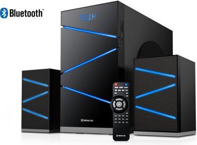 Акустическая система Real-El M-410 black (EL121300007)