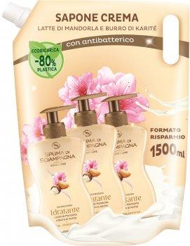 Рідке антибактеріальне мило Spuma Di Sciampagna Almond Milk Antibacterial 1500 мл (8007750007008)